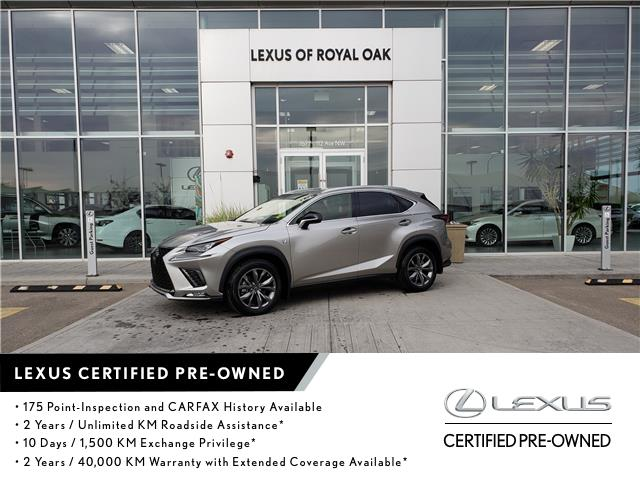 2020 Lexus NX 300 Base (Stk: L21030A) in Calgary - Image 1 of 21