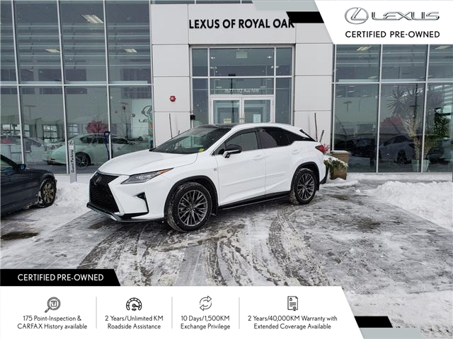 2019 Lexus RX 350 Base (Stk: L21107A) in Calgary - Image 1 of 22
