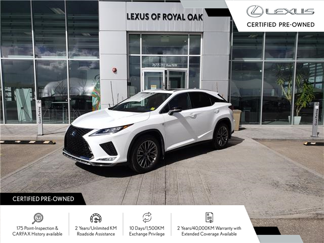 2020 Lexus RX 350 Base (Stk: LU0383) in Calgary - Image 1 of 21