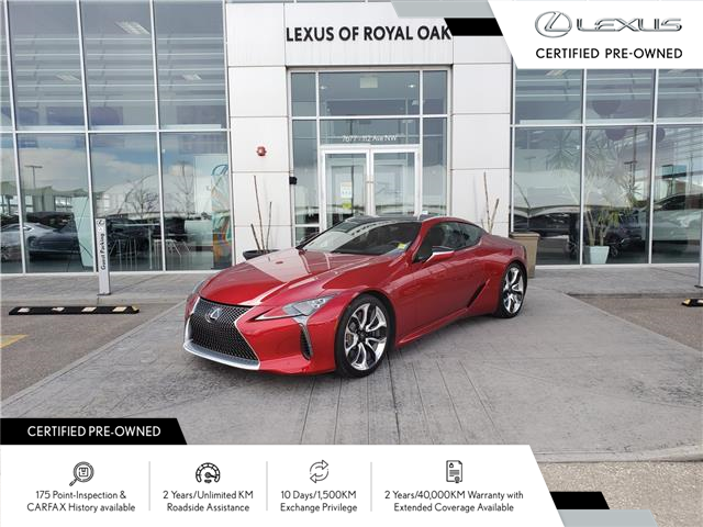 2018 Lexus LC 500 Base (Stk: L21280A) in Calgary - Image 1 of 30