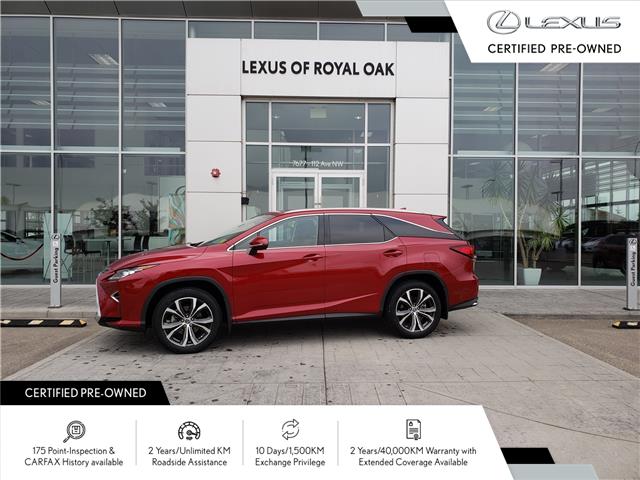 2019 Lexus RX 350L Luxury (Stk: LU0393) in Calgary - Image 1 of 12