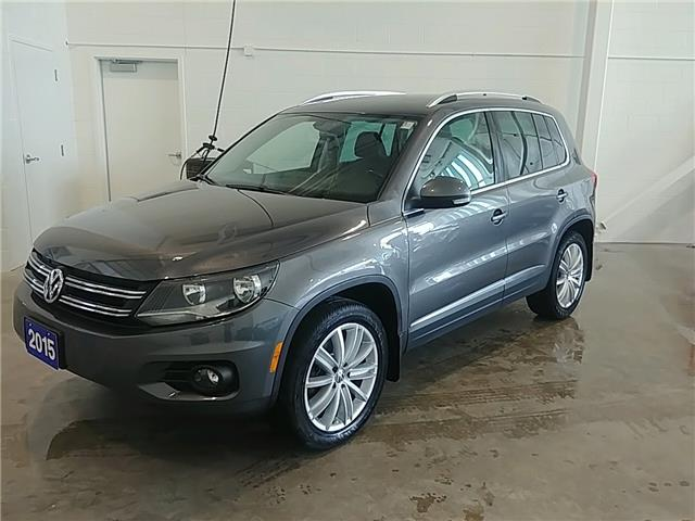 2015 Volkswagen Tiguan Highline (Stk: TI20014A) in Sault Ste. Marie - Image 1 of 17