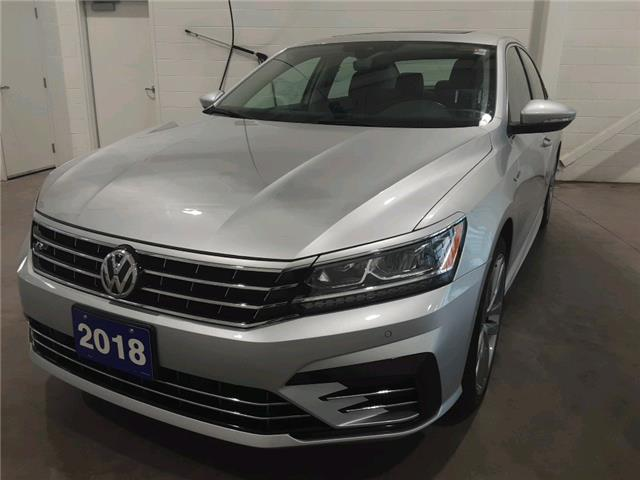 2018 Volkswagen Passat 2.0 TSI Highline (Stk: TI20073A) in Sault Ste. Marie - Image 1 of 20