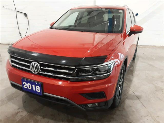 2018 Volkswagen Tiguan Highline (Stk: V0553) in Sault Ste. Marie - Image 1 of 23