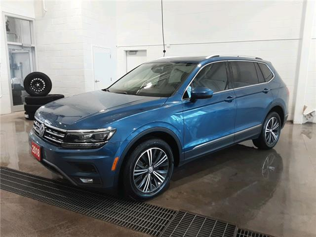 2018 Volkswagen Tiguan Highline (Stk: AC20021A) in Sault Ste. Marie - Image 1 of 14