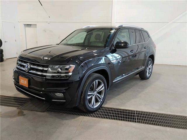 2019 Volkswagen Atlas 3.6 FSI Highline (Stk: V0580) in Sault Ste. Marie - Image 1 of 20