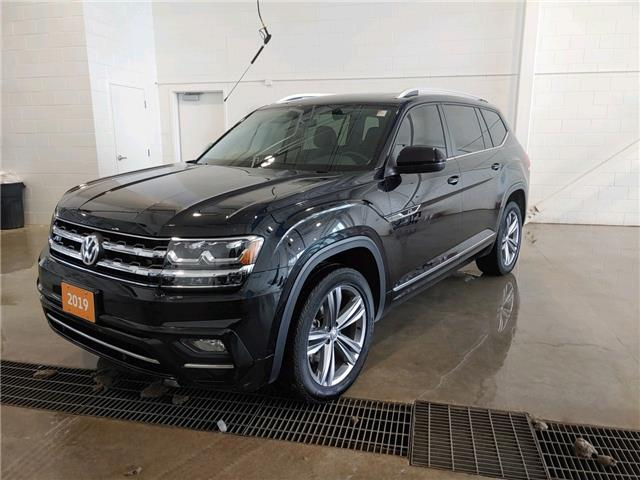 2019 Volkswagen Atlas 3.6 FSI Highline (Stk: A21043A) in Sault Ste. Marie - Image 1 of 18
