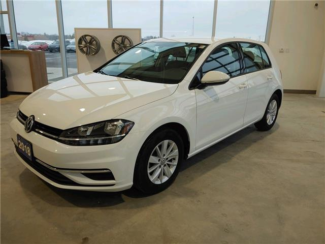 2018 Volkswagen Golf  (Stk: V0560E) in Sault Ste. Marie - Image 1 of 14