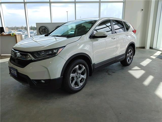 2018 Honda CR-V EX (Stk: V0603) in Sault Ste. Marie - Image 1 of 16