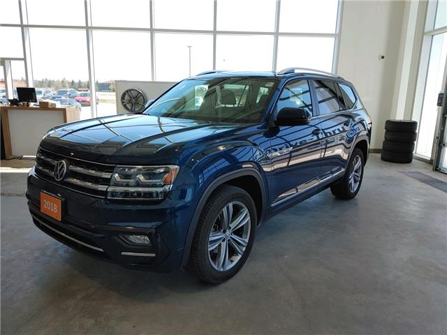 2018 Volkswagen Atlas 3.6 FSI Highline (Stk: V0608) in Sault Ste. Marie - Image 1 of 15