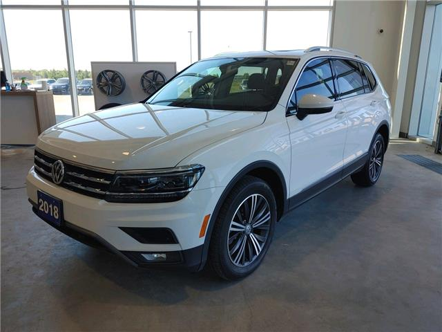 2018 Volkswagen Tiguan Highline (Stk: TI21034A) in Sault Ste. Marie - Image 1 of 16