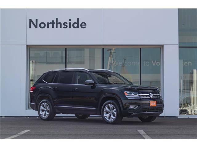 2018 Volkswagen Atlas 3.6 FSI Highline (Stk: G21007A) in Sault Ste. Marie - Image 1 of 18