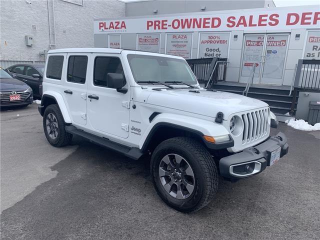 2020 Jeep Wrangler Unlimited Sahara (Stk: U1724) in Hamilton - Image 1 of 17