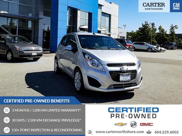 2013 Chevrolet Spark 1LT Auto (Stk: 9P09741) in North Vancouver - Image 1 of 26