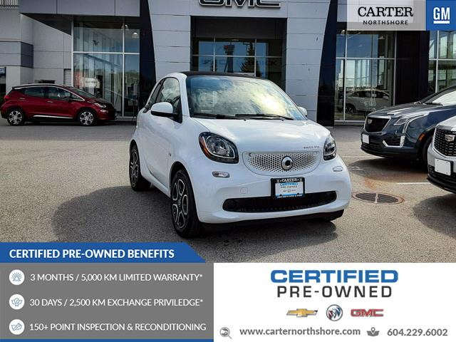 2018 Smart fortwo electric drive Passion (Stk: 974280) in North Vancouver - Image 1 of 27