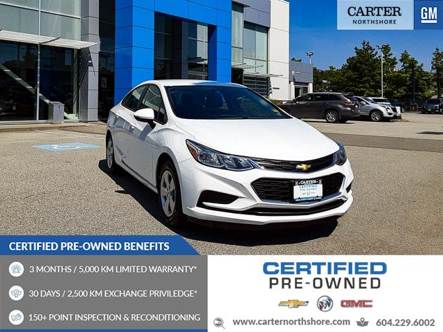 2016 Chevrolet Cruze L Manual (Stk: 974290) in North Vancouver - Image 1 of 25
