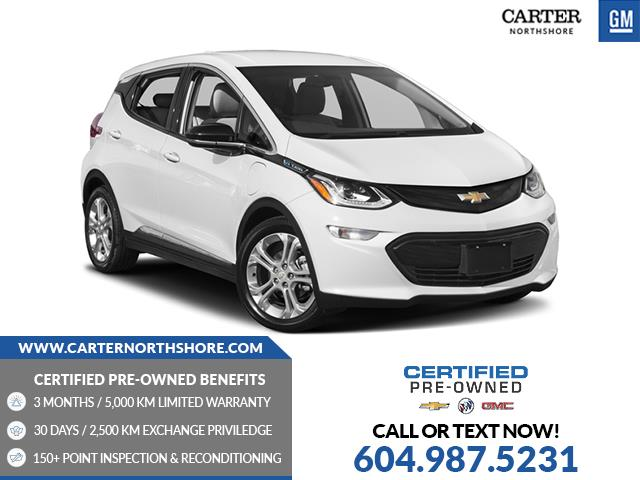Used 2018 Chevrolet Bolt EV Premier LEATHER - WIRELESS CHARGING - HEATED SEATS - BLIND SENSOR - North Vancouver - Carter GM North Shore