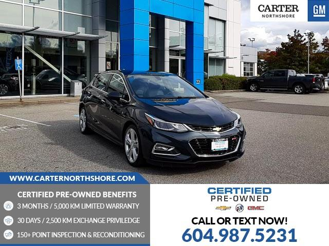 2018 Chevrolet Cruze Premier Auto (Stk: 974480) in North Vancouver - Image 1 of 28