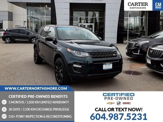 2016 Land Rover Discovery Sport HSE LUXURY (Stk: 1CN83391) in North Vancouver - Image 1 of 29
