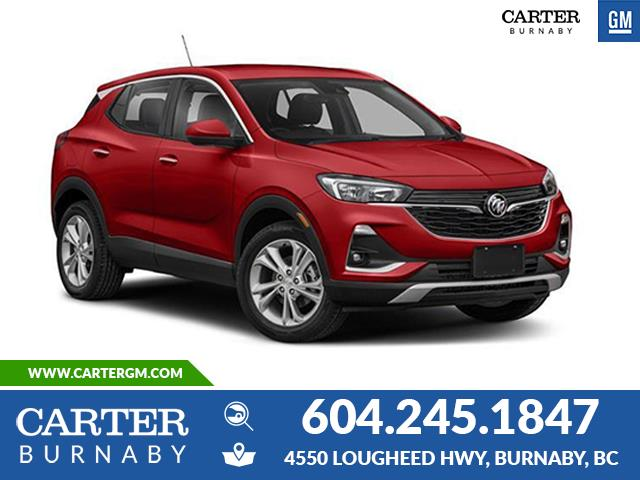 New 2021 Buick Encore GX Essence  - Burnaby - Carter GM Burnaby