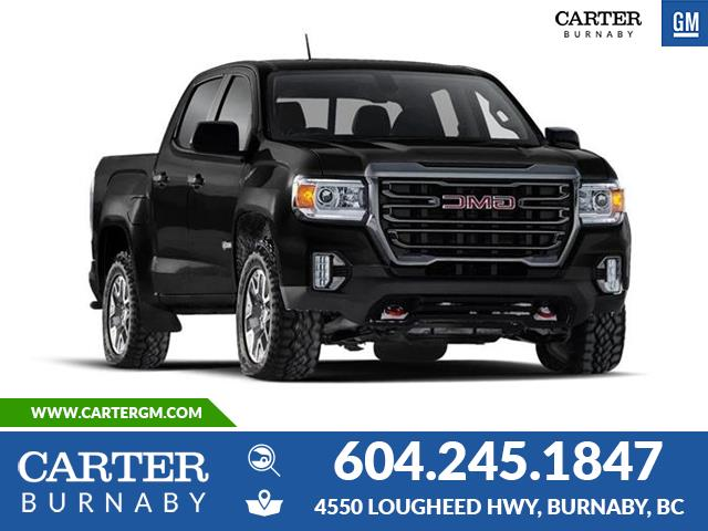New 2021 GMC Canyon AT4 w/Leather  - Burnaby - Carter GM Burnaby