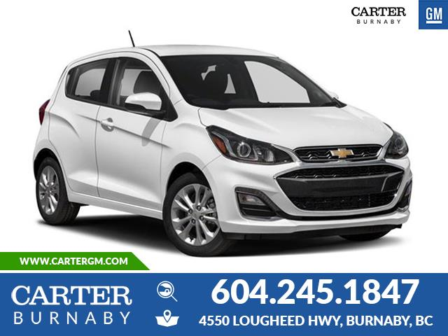 New 2020 Chevrolet Spark 1LT CVT  - Burnaby - Carter GM Burnaby