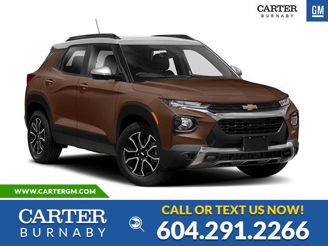 New 2021 Chevrolet TrailBlazer ACTIV  - Burnaby - Carter GM Burnaby