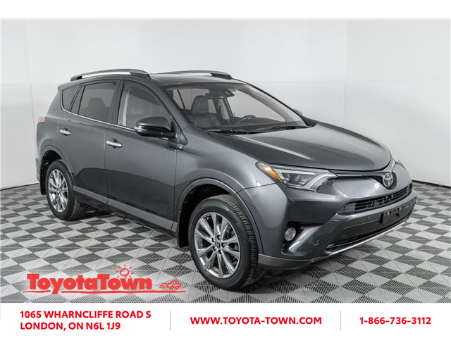 2017 Toyota RAV4 Limited (Stk: F0379L) in London - Image 1 of 30