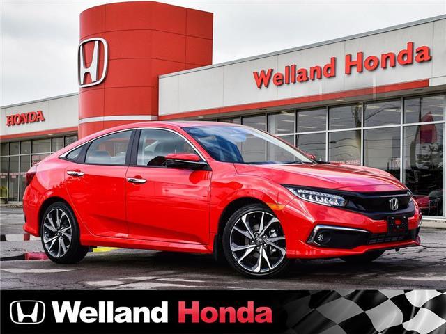 2020 Honda Civic Touring (Stk: N20331) in Welland - Image 1 of 22