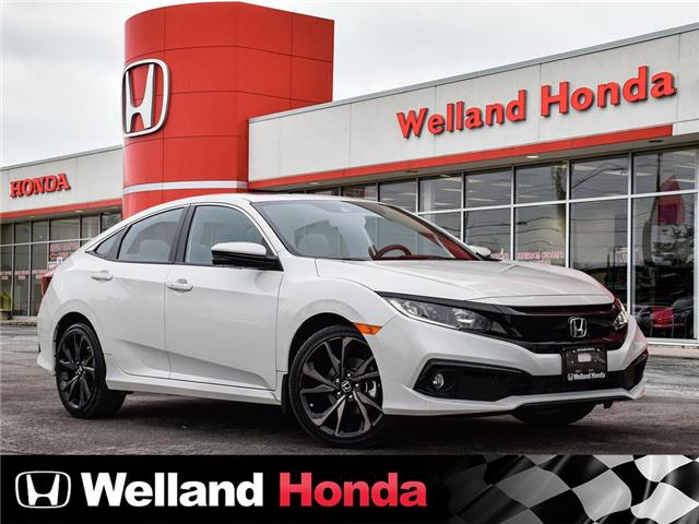 2020 Honda Civic Sport (Stk: N20338) in Welland - Image 1 of 31
