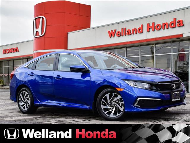 2020 Honda Civic EX 2HGFC2F75LH032154 N20348 in Welland