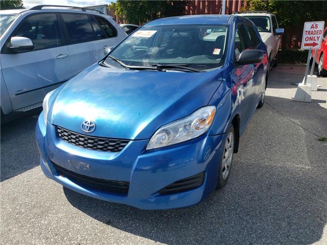 2010 Toyota Matrix Base Blue