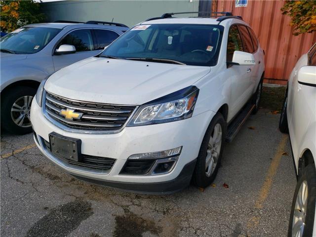 2017 Chevrolet Traverse 1LT White