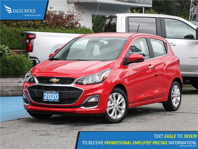 2020 Chevrolet Spark 2LT CVT (Stk: 03406A) in Coquitlam - Image 1 of 18