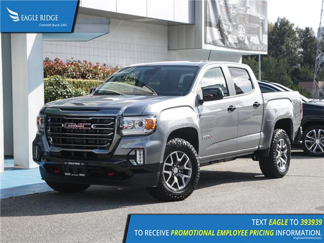 2021 GMC Canyon AT4 w/Leather (Stk: 18001A) in Coquitlam - Image 1 of 18