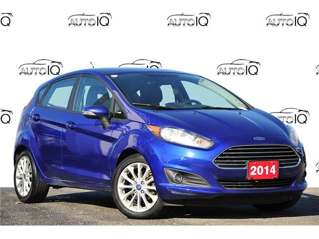 2014 Ford Fiesta SE Blue