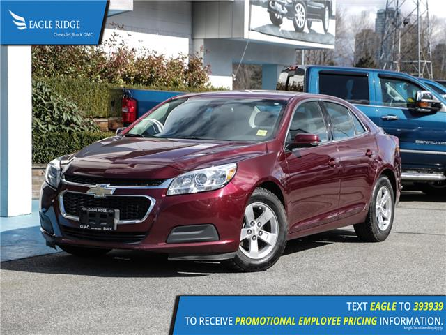 2016 Chevrolet Malibu Limited LT (Stk: 169810) in Coquitlam - Image 1 of 14