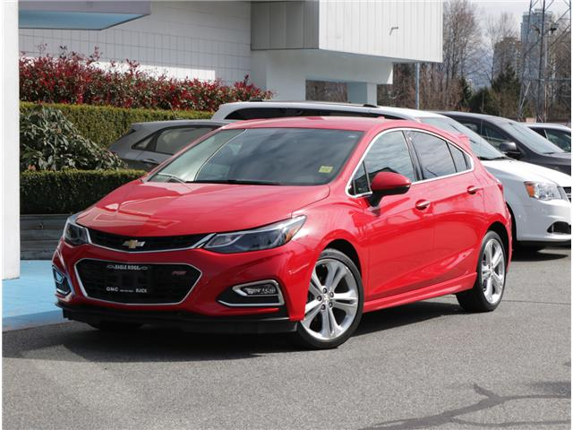 2018 Chevrolet Cruze Premier Auto (Stk: 185400) in Coquitlam - Image 1 of 21