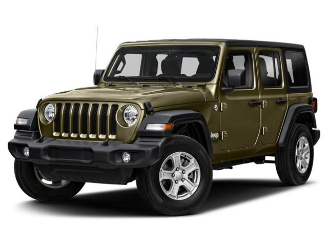 2021 Jeep Wrangler Unlimited Sahara (Stk: 1C4HJX) in Lindsay - Image 1 of 9