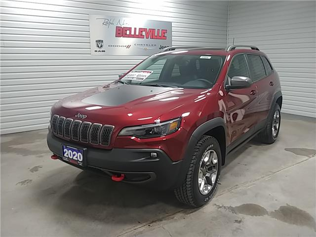 2020 Jeep Cherokee Trailhawk 1C4PJMBX0LD638694 0304 in Belleville