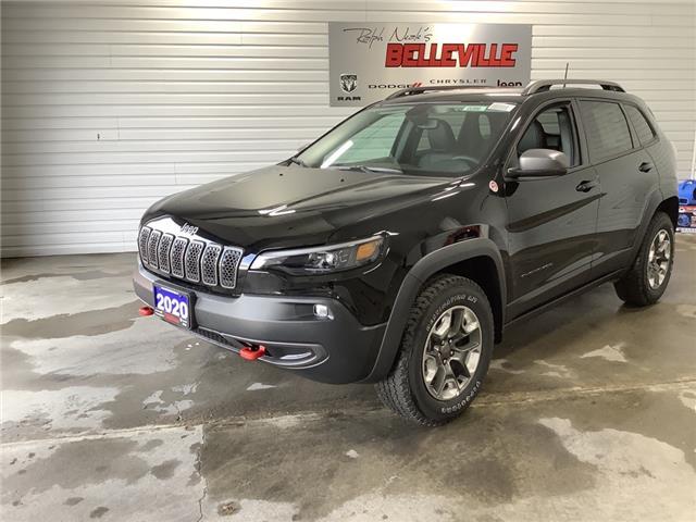 2020 Jeep Cherokee Trailhawk (Stk: 0286) in Belleville - Image 1 of 17