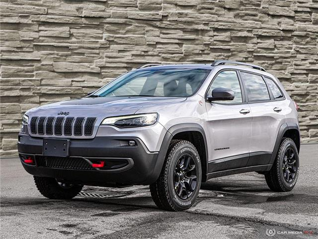 2020 Jeep Cherokee Trailhawk (Stk: L1105) in Hamilton - Image 1 of 30