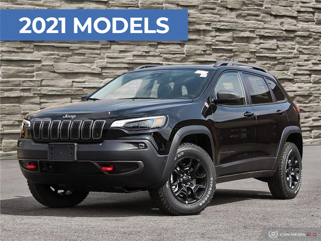 2021 Jeep Cherokee Trailhawk (Stk: J4203) in Brantford - Image 1 of 27
