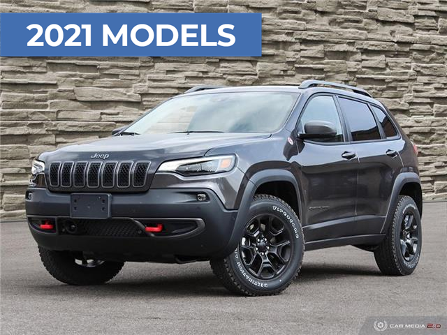 2021 Jeep Cherokee Trailhawk (Stk: J4202) in Brantford - Image 1 of 27
