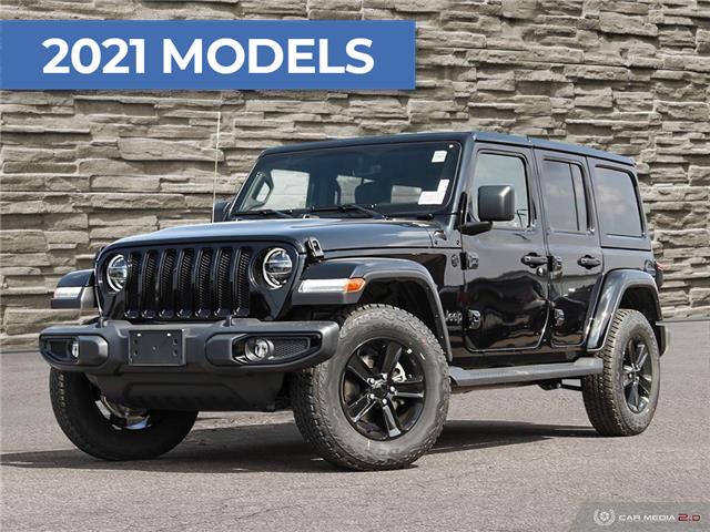 2021 Jeep Wrangler Unlimited Sahara (Stk: J4200) in Brantford - Image 1 of 23