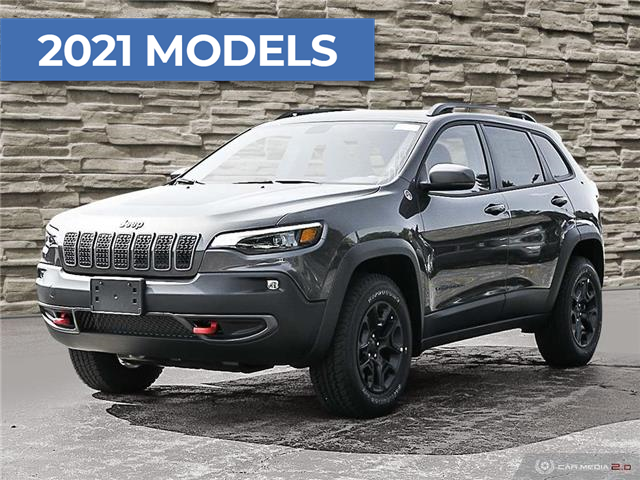 2021 Jeep Cherokee Trailhawk (Stk: M1021) in Hamilton - Image 1 of 20