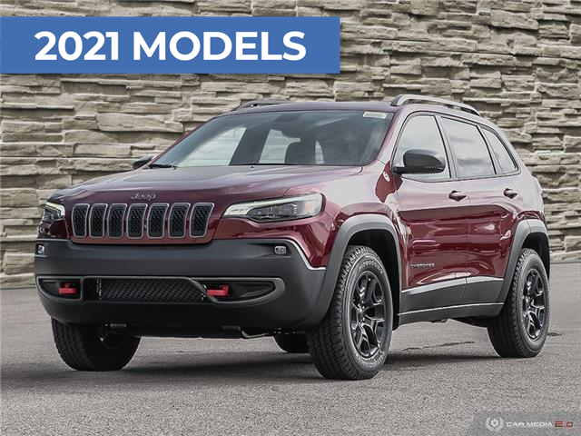 2021 Jeep Cherokee Trailhawk (Stk: M1026) in Hamilton - Image 1 of 28