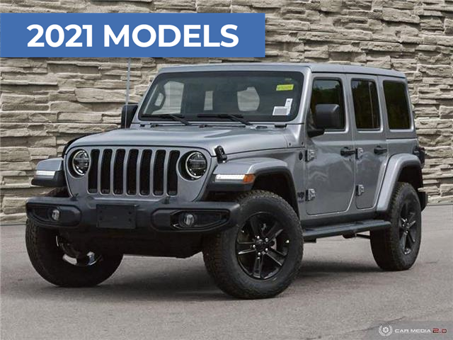 2021 Jeep Wrangler Unlimited Sahara (Stk: M2009) in Welland - Image 1 of 27