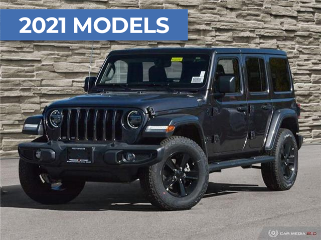 2021 Jeep Wrangler Unlimited Sahara (Stk: M2014) in Welland - Image 1 of 27