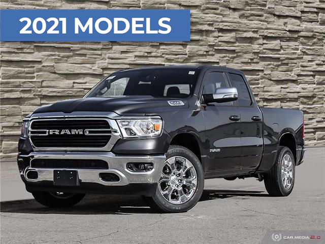 2021 RAM 1500 Big Horn (Stk: T8805) in Brantford - Image 1 of 27